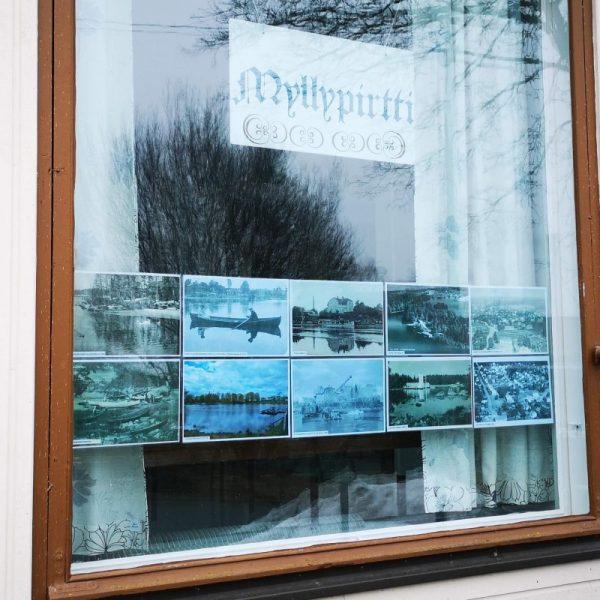 Myllypirtin ikkunanäyttely kevät 2021